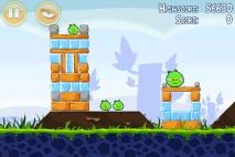 Angry Birds Poached Eggs уровень 1-11