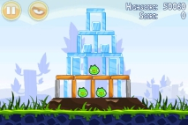 Angry Birds Poached Eggs уровень 1-12