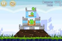 Angry Birds Poached Eggs уровень 1-13