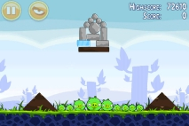 Angry Birds Poached Eggs уровень 1-14