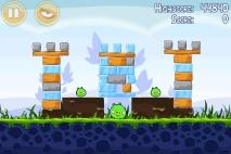 Angry Birds Poached Eggs уровень 1-15
