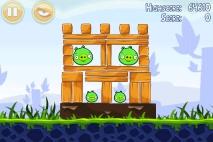 Angry Birds Poached Eggs уровень 1-16