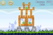 Angry Birds Poached Eggs уровень 1-17