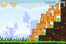 Angry Birds Poached Eggs уровень 1-18