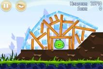 Angry Birds Poached Eggs уровень 1-19