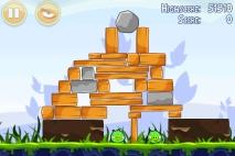 Angry Birds Poached Eggs уровень 1-20