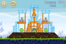 Angry Birds Poached Eggs уровень 1-21