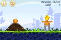 Angry Birds Poached Eggs уровень 1-3