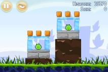 Angry Birds Poached Eggs уровень 1-6