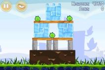 Angry Birds Poached Eggs уровень 1-7