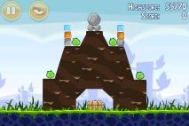 Angry Birds Poached Eggs уровень 1-8