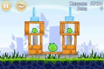 Angry Birds Poached Eggs уровень 1-9