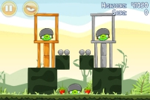 Angry Birds Poached Eggs уровень 2-10