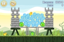 Angry Birds Poached Eggs уровень 2-11