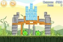 Angry Birds Poached Eggs уровень 2-12
