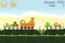 Angry Birds Poached Eggs уровень 2-14