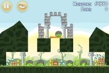 Angry Birds Poached Eggs уровень 2-15