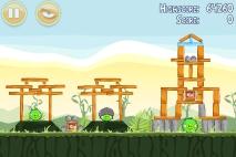 Angry Birds Poached Eggs уровень 2-16
