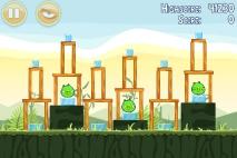 Angry Birds Poached Eggs уровень 2-17