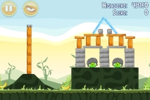 Angry Birds Poached Eggs уровень 2-19