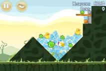 Angry Birds Poached Eggs уровень 2-2