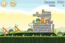 Angry Birds Poached Eggs уровень 2-20