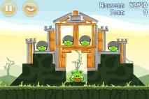 Angry Birds Poached Eggs уровень 2-21