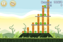 Angry Birds Poached Eggs уровень 2-3
