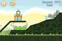 Angry Birds Poached Eggs уровень 2-4