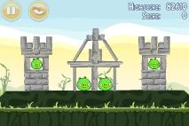Angry Birds Poached Eggs уровень 2-5