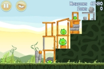 Angry Birds Poached Eggs уровень 2-6