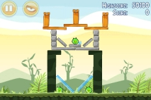 Angry Birds Poached Eggs уровень 2-7