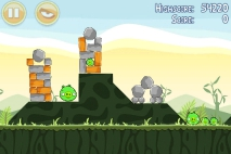 Angry Birds Poached Eggs уровень 2-8