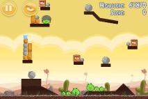 Angry Birds Poached Eggs уровень 3-1