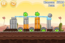Angry Birds Poached Eggs уровень 3-10