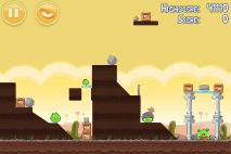 Angry Birds Poached Eggs уровень 3-13