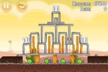 Angry Birds Poached Eggs уровень 3-15