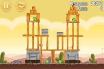 Angry Birds Poached Eggs уровень 3-16