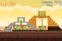 Angry Birds Poached Eggs уровень 3-17