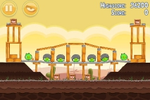 Angry Birds Poached Eggs уровень 3-18