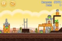 Angry Birds Poached Eggs уровень 3-19