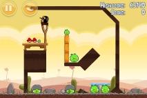 Angry Birds Poached Eggs уровень 3-2