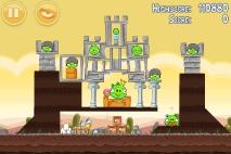 Angry Birds Poached Eggs уровень 3-21