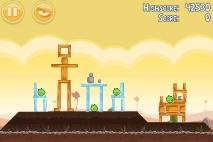 Angry Birds Poached Eggs уровень 3-4