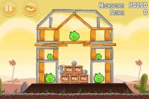 Angry Birds Poached Eggs уровень 3-5