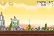 Angry Birds Poached Eggs уровень 3-6