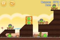 Angry Birds Poached Eggs уровень 3-7