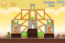 Angry Birds Poached Eggs уровень 3-8