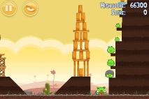 Angry Birds Poached Eggs уровень 3-9